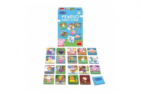 Pexeso 48 pevných kartiček Prasátko Peppa/Peppa Pig