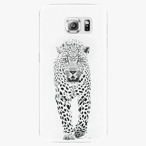 Plastový kryt iSaprio - White Jaguar - Samsung Galaxy S6 Edge Plus