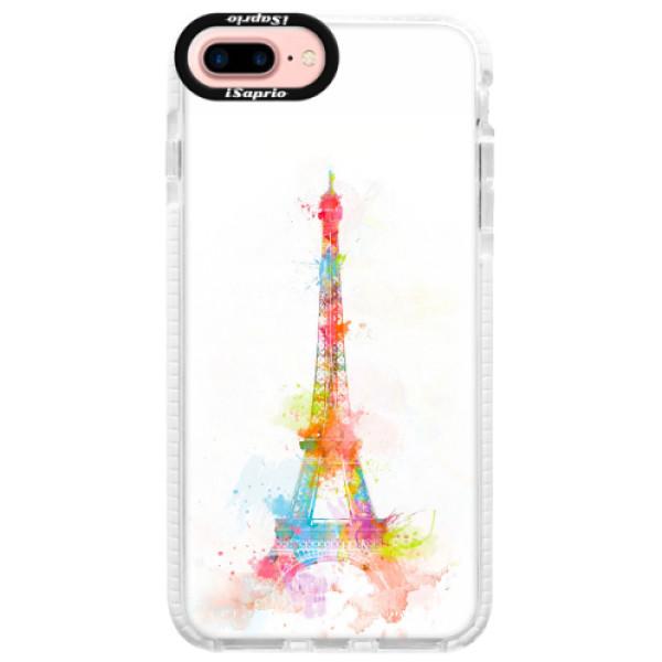 Silikonové pouzdro Bumper iSaprio - Eiffel Tower - iPhone 7 Plus