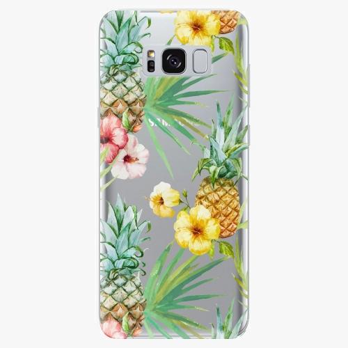 Silikonové pouzdro iSaprio - Pineapple Pattern 02 - Samsung Galaxy S8
