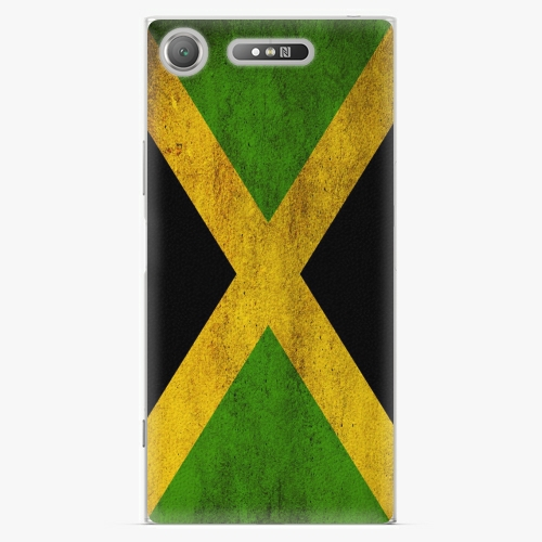 Plastový kryt iSaprio - Flag of Jamaica - Sony Xperia XZ1