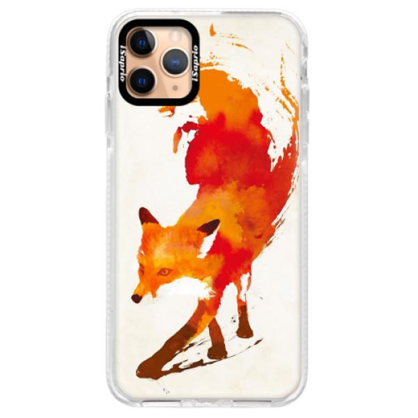 Silikonové pouzdro Bumper iSaprio - Fast Fox - iPhone 11 Pro Max