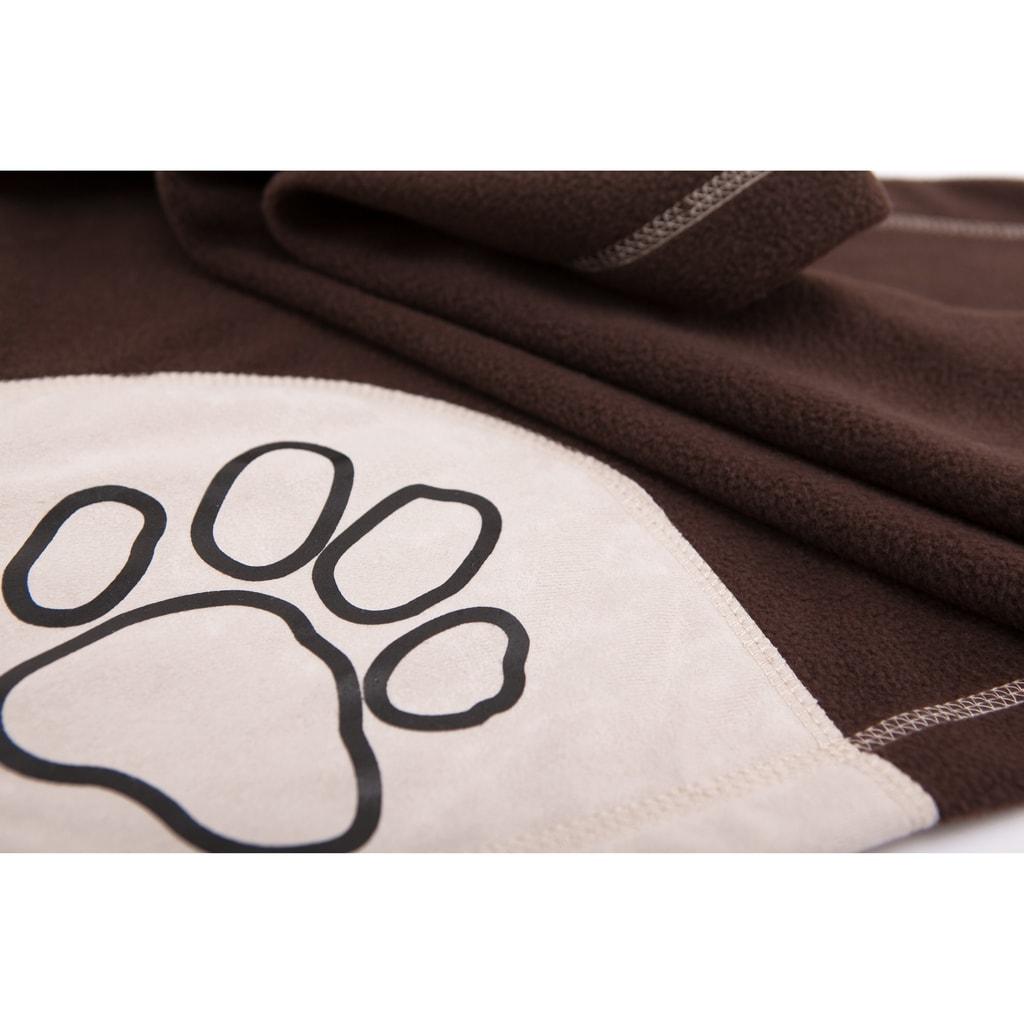 Deka pro psa Reedog Brown Paw - L