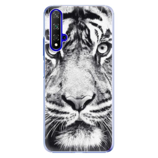 Plastové pouzdro iSaprio - Tiger Face - Huawei Honor 20