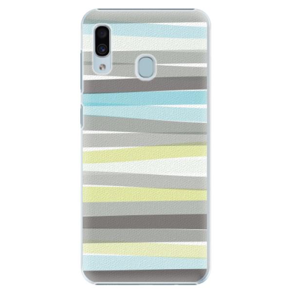 Plastové pouzdro iSaprio - Stripes - Samsung Galaxy A20