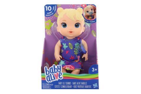 Baby Alive Blond plačící panenka
