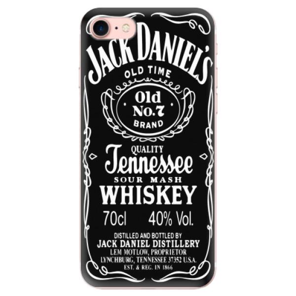 Odolné silikonové pouzdro iSaprio - Jack Daniels - iPhone 7