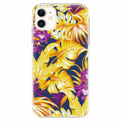 Plastový kryt iSaprio - Tropical Orange 04 - iPhone 11
