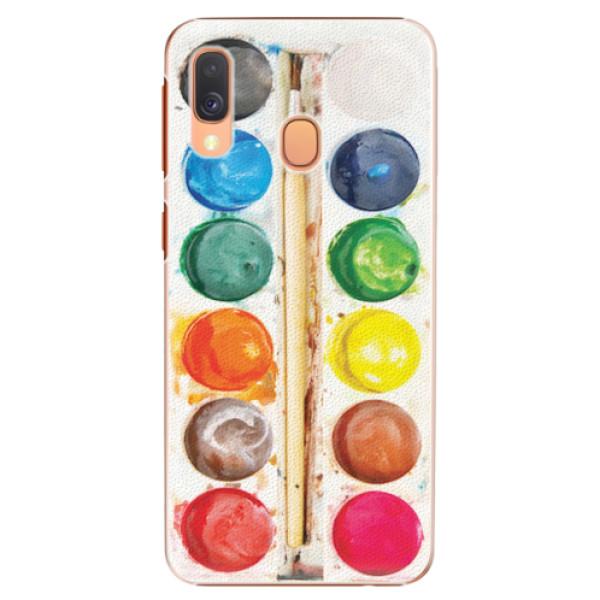 Plastové pouzdro iSaprio - Watercolors - Samsung Galaxy A40