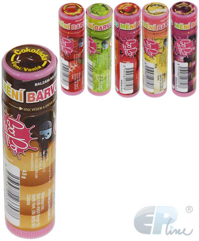 EP Line BO-PO Dětský balzám na rty mění barvu s vůní 6 druhů