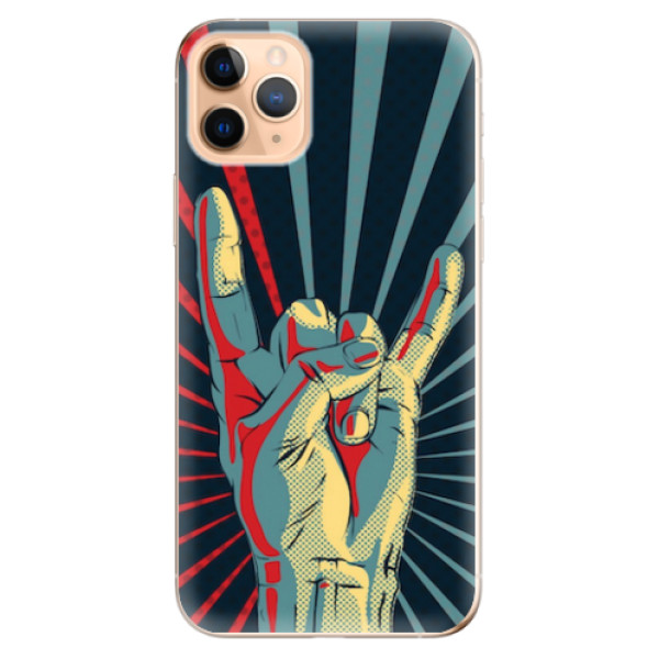 Odolné silikonové pouzdro iSaprio - Rock - iPhone 11 Pro Max