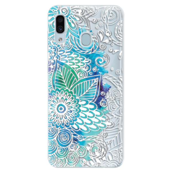 Silikonové pouzdro iSaprio - Lace 03 - Samsung Galaxy A30