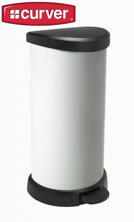 Odpadkový koš pedálový DECOBIN 40l - vintage CURVER