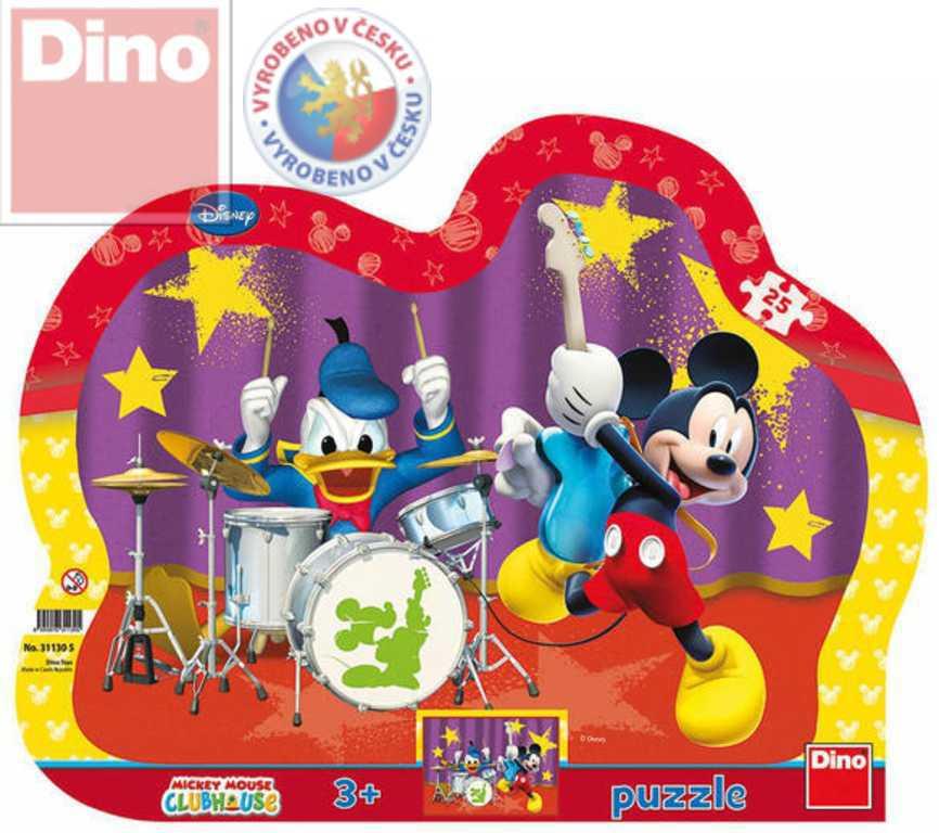 DINO Puzzle Mickeyho kapela 25 dílků