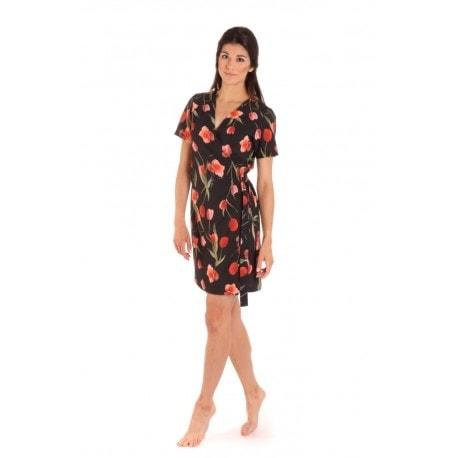 Vestis Betty plážové šaty - 9901 černý základ