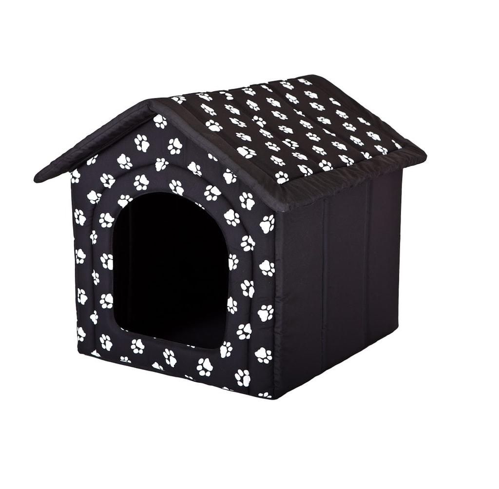 Domeček pro psa Reedog Black Paw - M