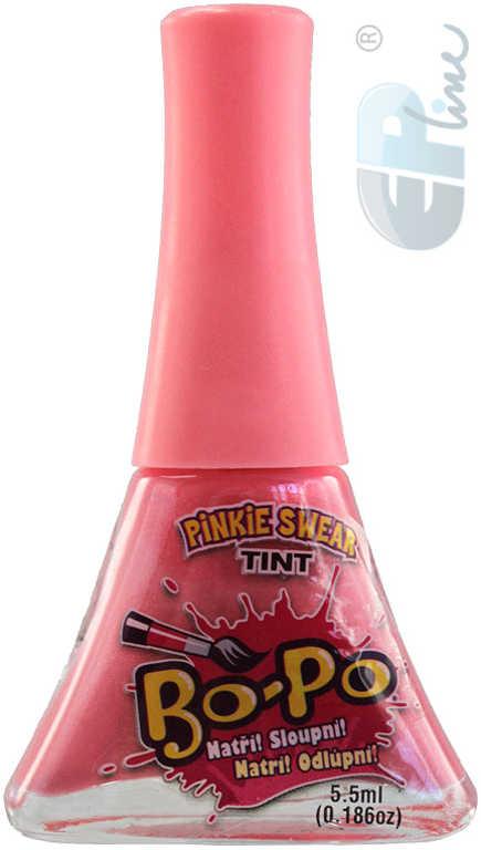 EP line BO-PO Lak na nehty dětský světle růžový Pinkie Swear 5,5ml na kartě