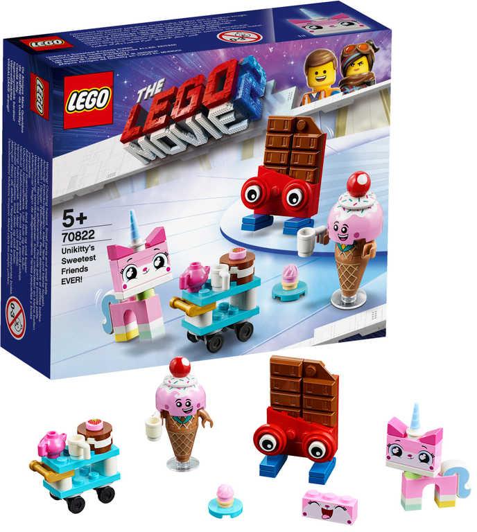LEGO MOVIE PŘÍBĚH 2: Nejroztomilejší přátelé Unikitty! 70822