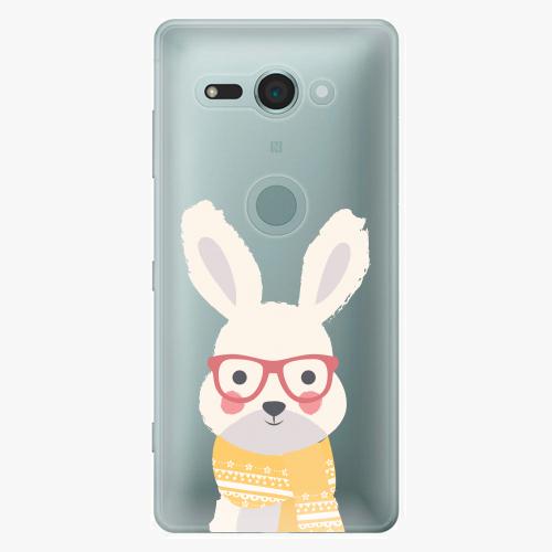 Plastový kryt iSaprio - Smart Rabbit - Sony Xperia XZ2 Compact