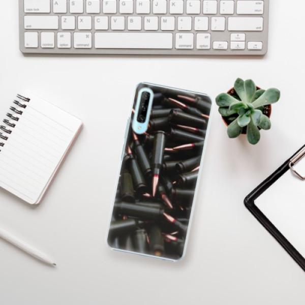 Plastové pouzdro iSaprio - Black Bullet - Huawei P Smart Pro