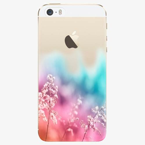 Plastový kryt iSaprio - Rainbow Grass - iPhone 5/5S/SE