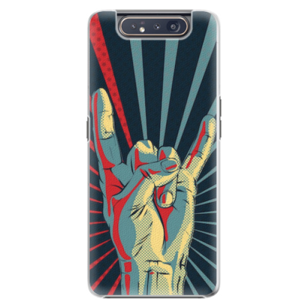 Plastové pouzdro iSaprio - Rock - Samsung Galaxy A80