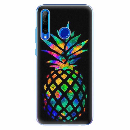 Plastový kryt iSaprio - Rainbow Pineapple - Huawei Honor 20 Lite