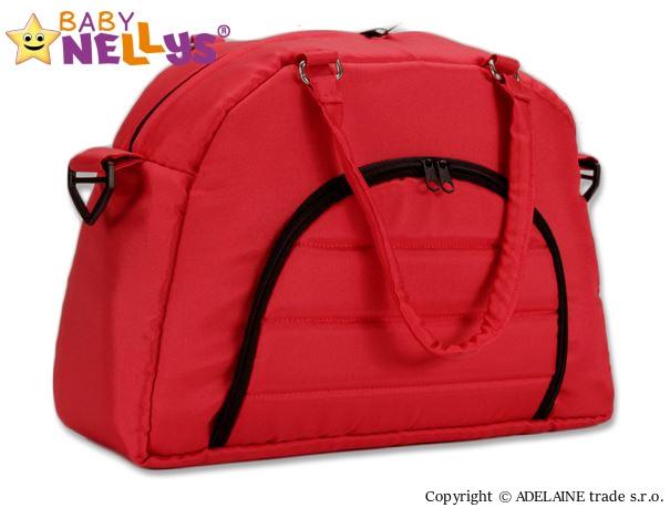 taska-na-kocarek-baby-nellys-adela-lux-cervena