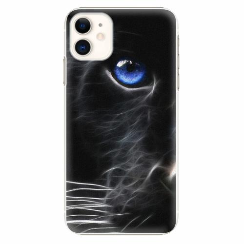 Plastový kryt iSaprio - Black Puma - iPhone 11