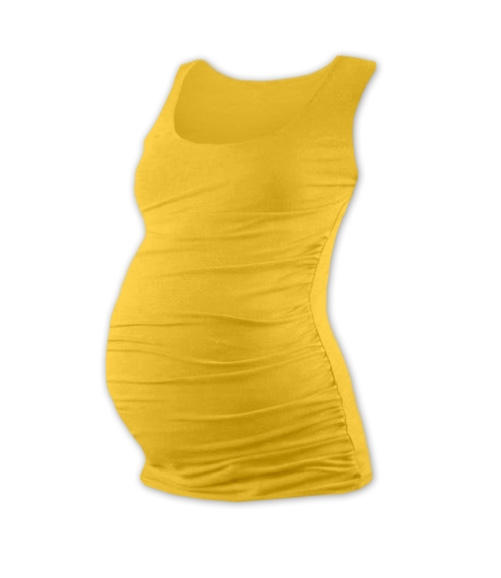 JOŽÁNEK Těhotenský top JOHANKA - žlutooranžová