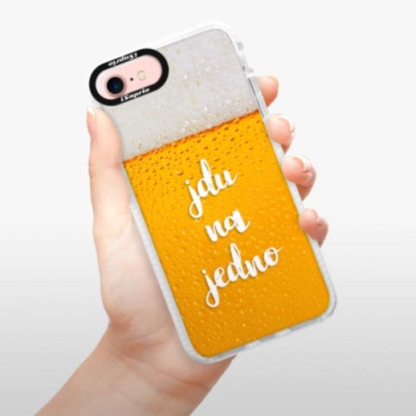 Silikonové pouzdro Bumper iSaprio - Jdu na jedno - iPhone 7