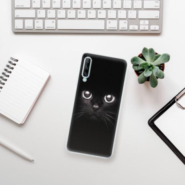 Odolné silikonové pouzdro iSaprio - Black Cat - Huawei P Smart Pro