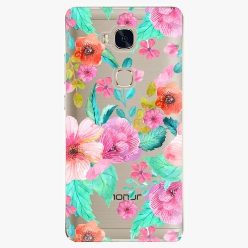 Plastový kryt iSaprio - Flower Pattern 01 - Huawei Honor 5X