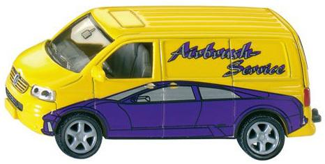SIKU VW Transporter VW Dodávka KOV