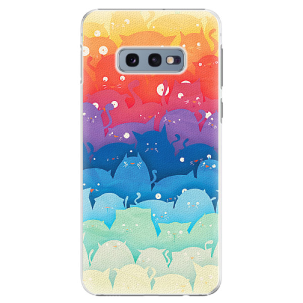 Plastové pouzdro iSaprio - Cats World - Samsung Galaxy S10e