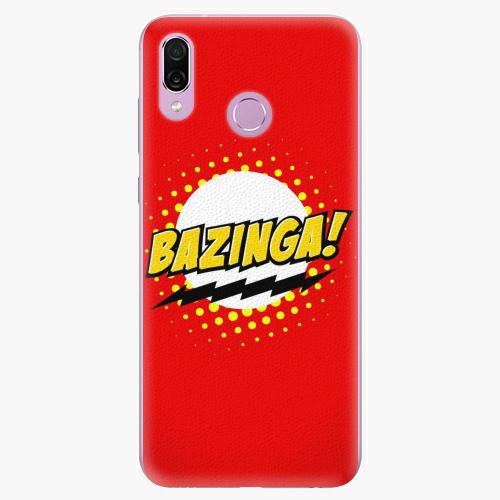 Silikonové pouzdro iSaprio - Bazinga 01 - Huawei Honor Play