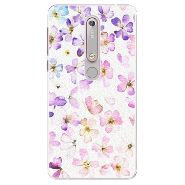 Plastové pouzdro iSaprio - Wildflowers - Nokia 6.1