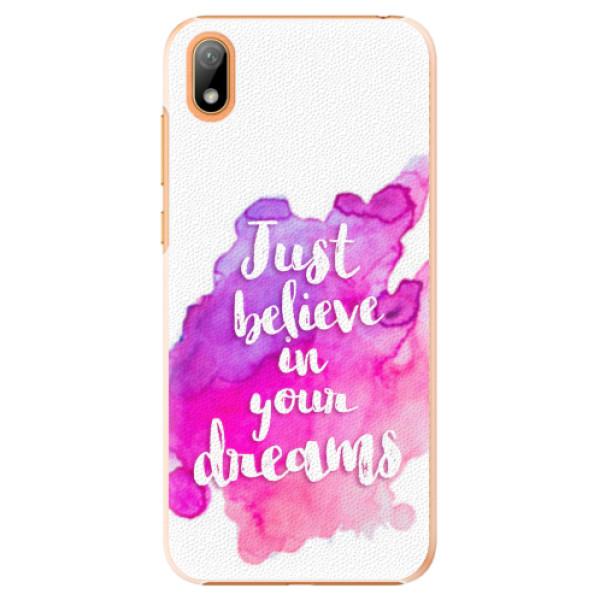 Plastové pouzdro iSaprio - Believe - Huawei Y5 2019