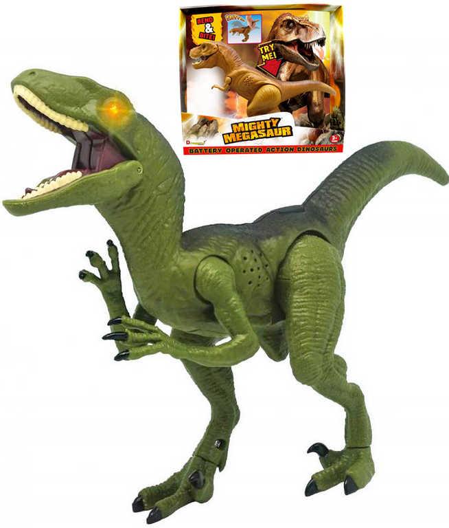 ADC Mighty Megasaur T-Rex / Raptor dinosaurus požírající na baterie Světlo Zvuk