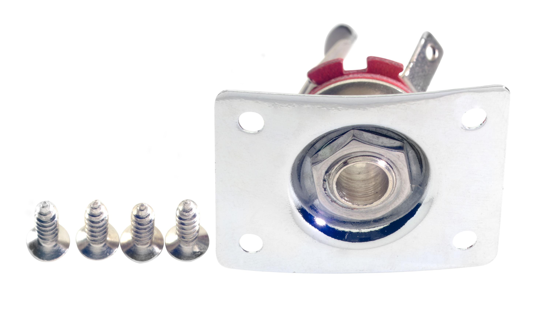 Stagg SP-IJLP-CH, zásuvka Jack 6,3 mm pro elektrickou kytaru