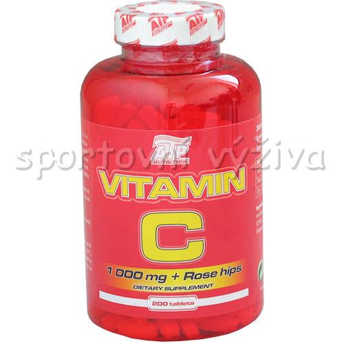 Vitamin C 1000mg + šípek bioflavonoidy 200tab
