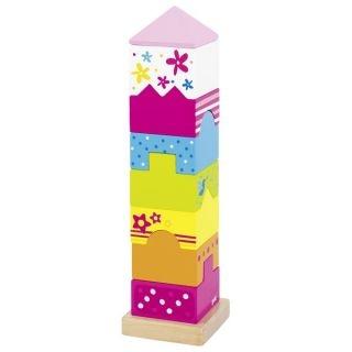 Dřevěná věž z kostek, hlavovolam Susibelle
