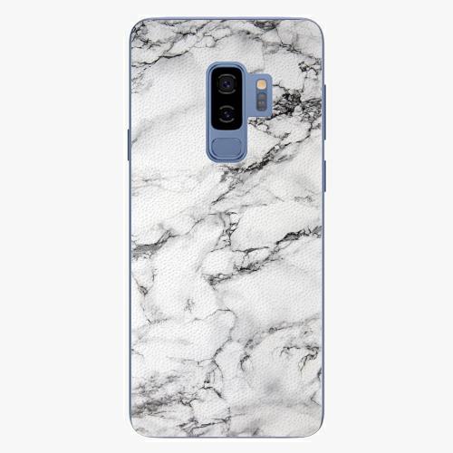 Plastový kryt iSaprio - White Marble 01 - Samsung Galaxy S9 Plus