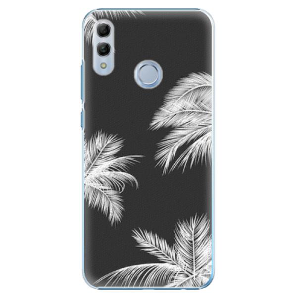 Plastové pouzdro iSaprio - White Palm - Huawei Honor 10 Lite