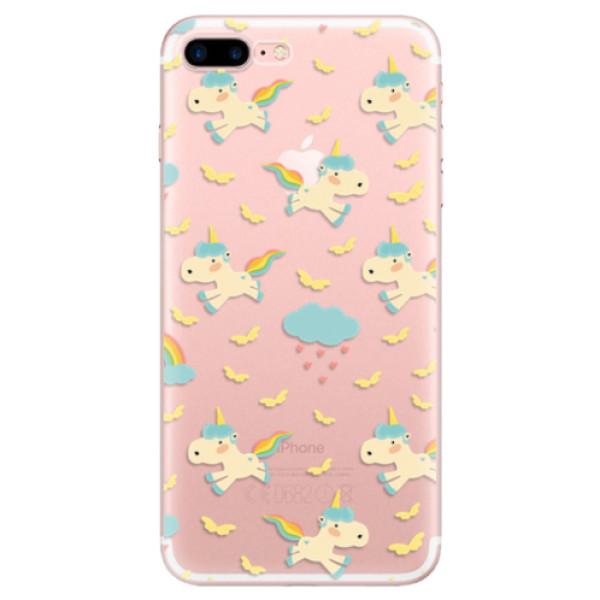 Odolné silikonové pouzdro iSaprio - Unicorn pattern 01 - iPhone 7 Plus