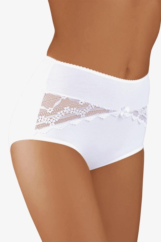 Dámské kalhotky BABELL 004 plus bílé - 3XL