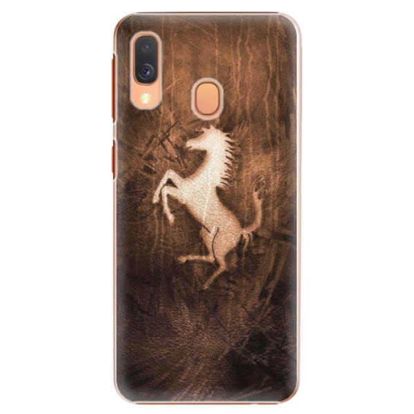 Plastové pouzdro iSaprio - Vintage Horse - Samsung Galaxy A40