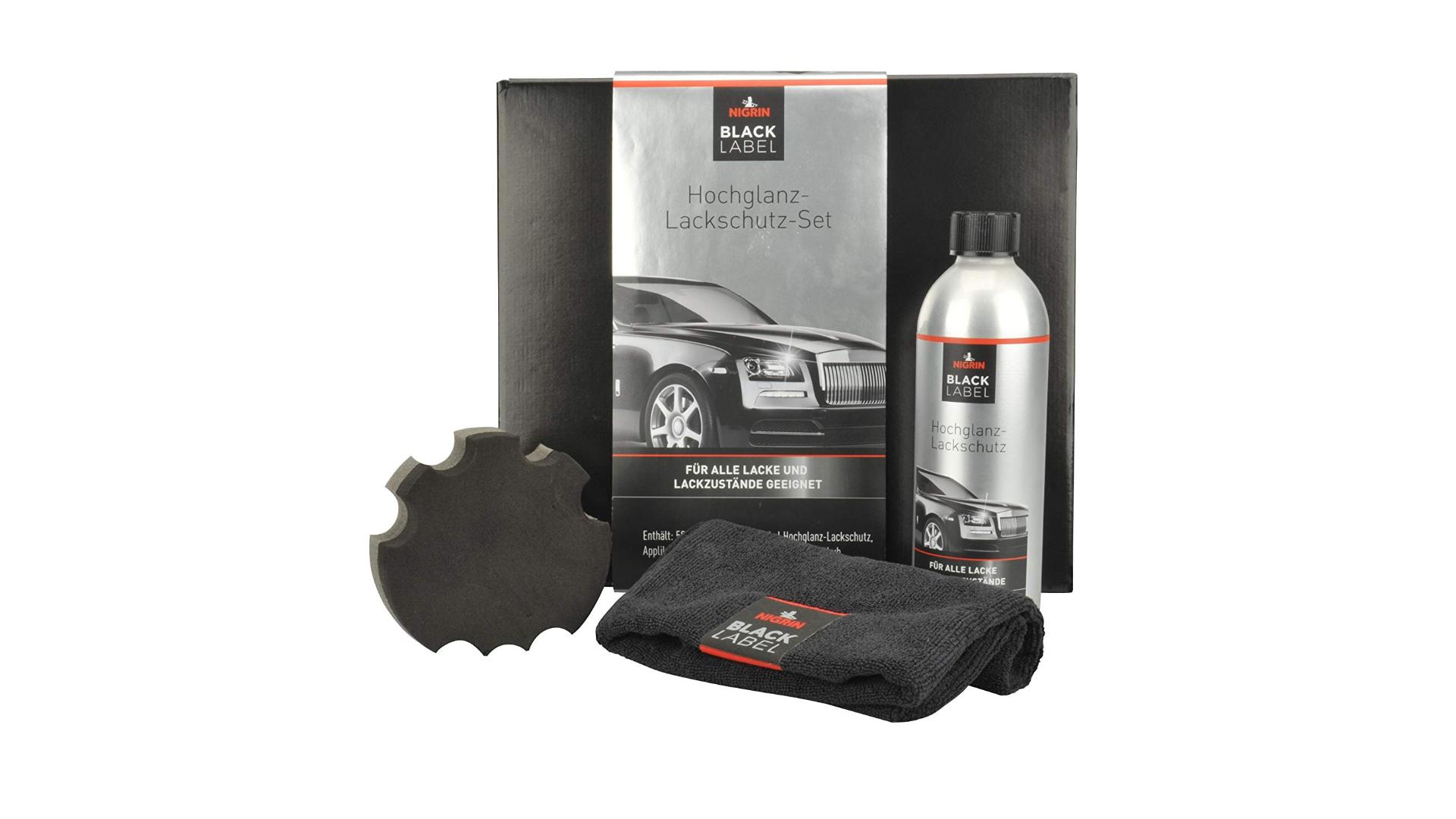 NIGRIN High gloss lacquer protection - set
