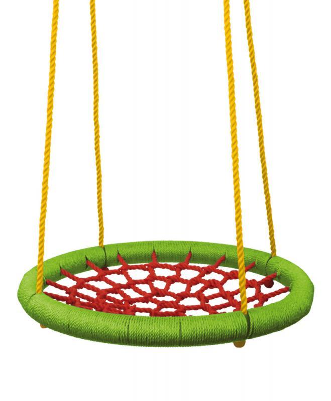 Houpací kruh (průměr 83cm) - zelenočervený