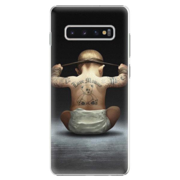 Plastové pouzdro iSaprio - Crazy Baby - Samsung Galaxy S10+